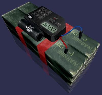 Взрывчатки c4 - Модели оружия - Мультимедия - [duba production]